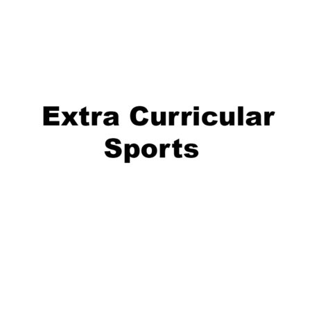 Extra Curricular Sports