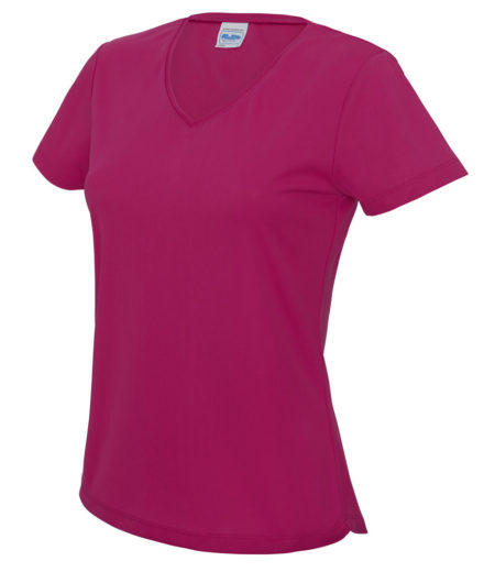 AWDis Cool Girlie V Neck Wicking T-Shirt