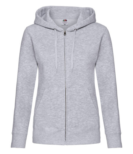 Fruit of the Loom Premium Lady Fit Zip Hooded Jacket